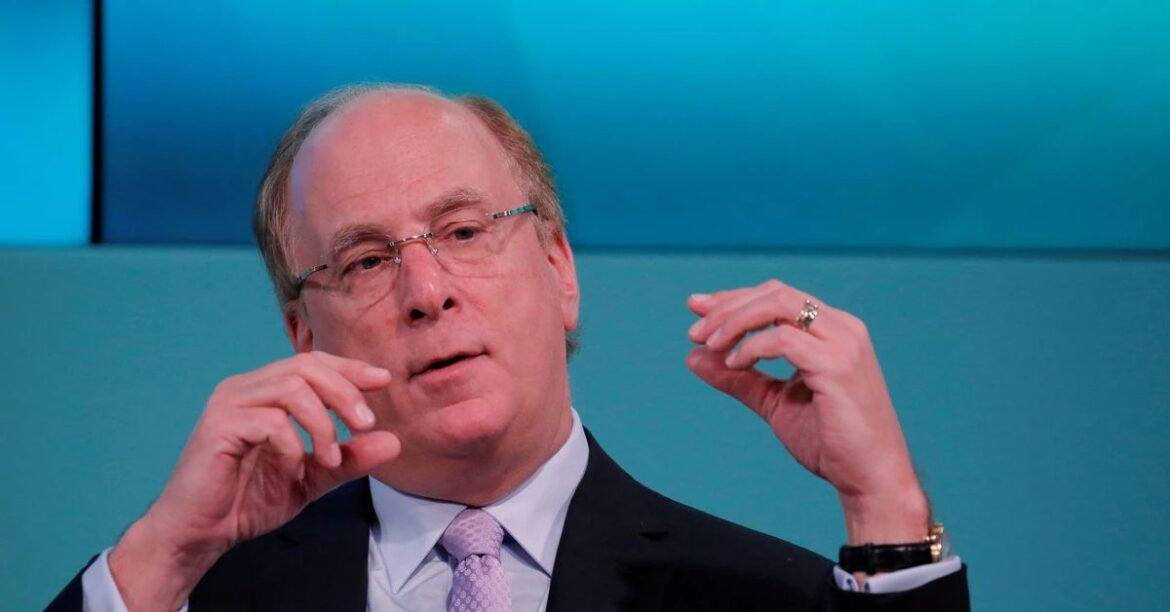 """BlackRock CEO says Shell decarbonisation ruling """"not a solution"""""""