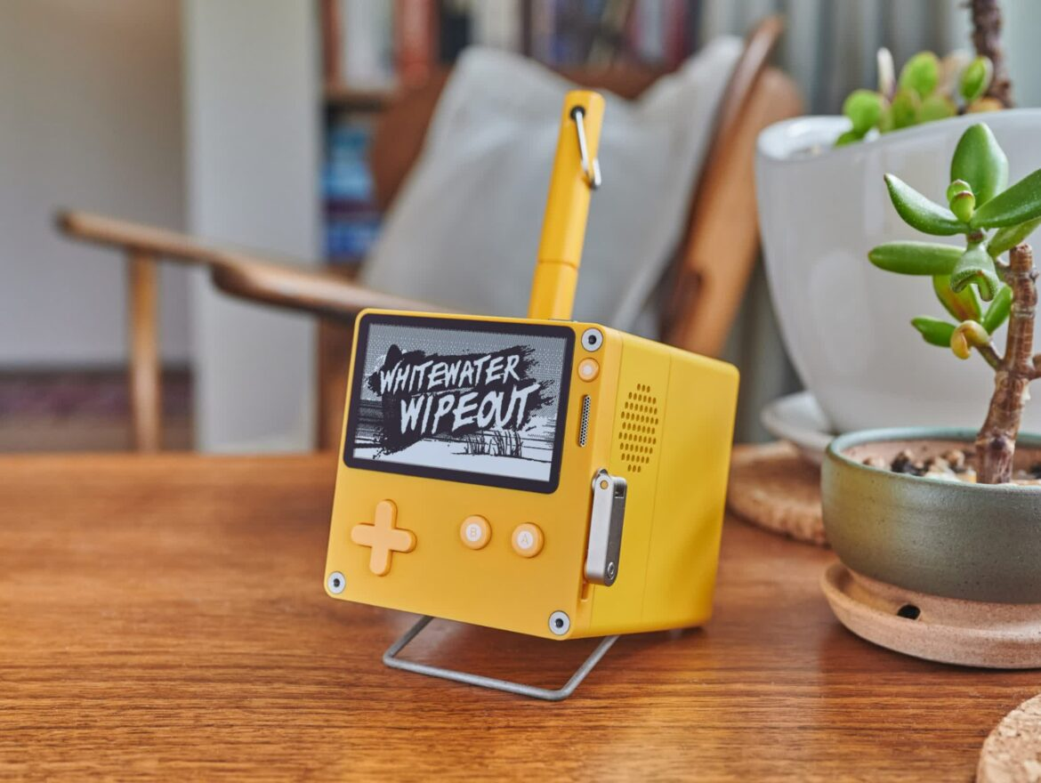 Playdate handheld pre-orders open in July with new speaker dock, protective case in tow